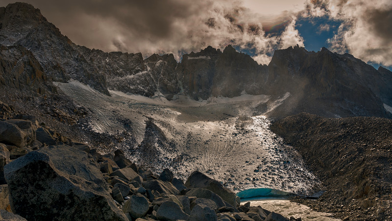 The Palisade Glacier and traverse