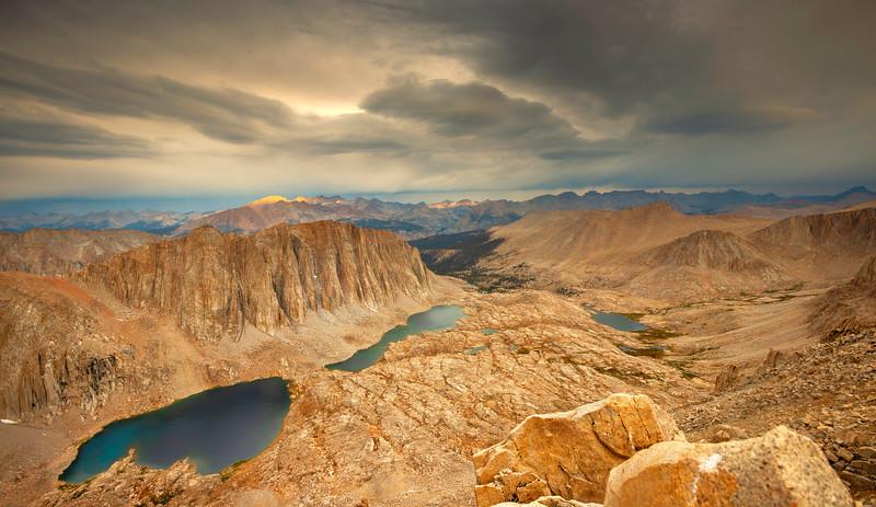 Trail Crest - Mt Whitney