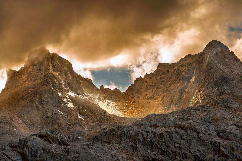 Mt. Winchell & Mt. Agassiz - Palisades