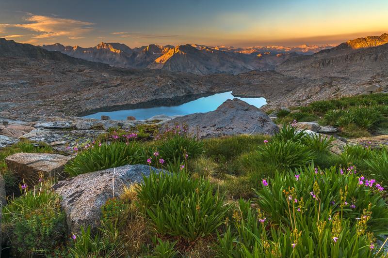 Palisade Basin looking West