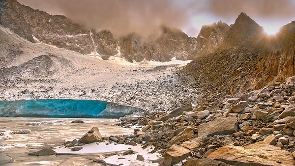 The Palisade Glacier