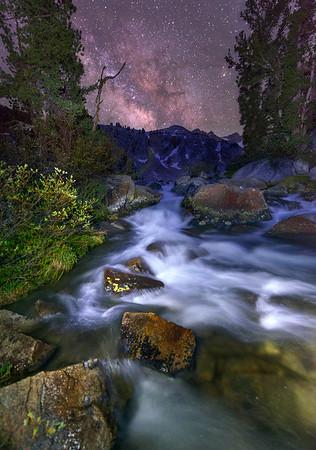 Lyell Creek Headwaters & Donohue Pass - JMT