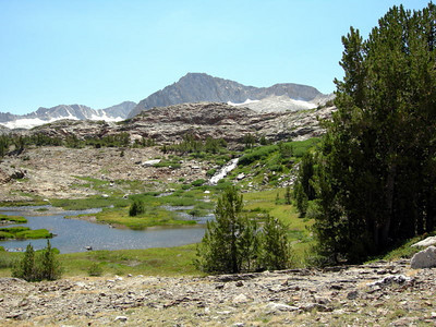 North peak and cascade