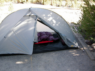 My new home - a Tarptent Rainbow