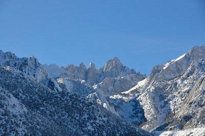 Mt Whitney, natch. Nice to spend christmas with it.