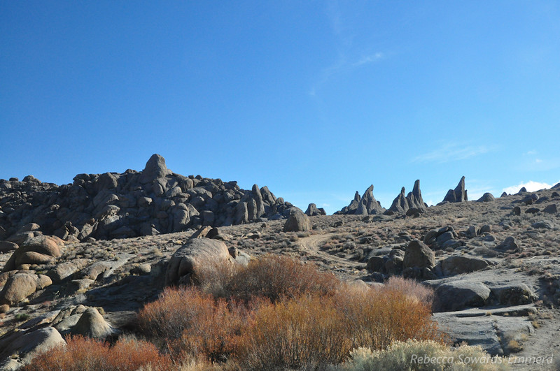 Alabama Hills formations