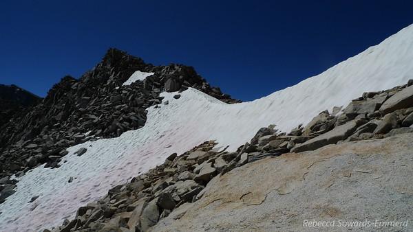 Arrow Pass. And snow.