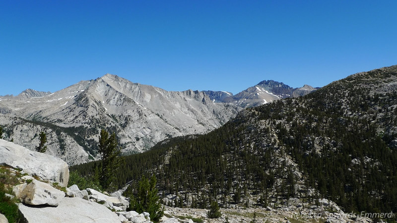 I look back and notice Split Mountain - finally realizing how it got the name 'Split'