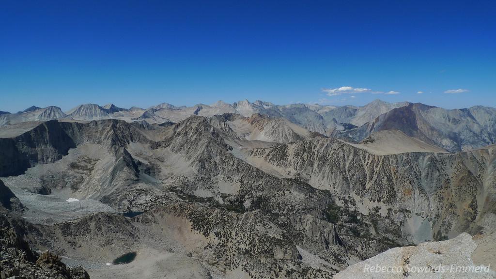 View northwest towards Mono Divide