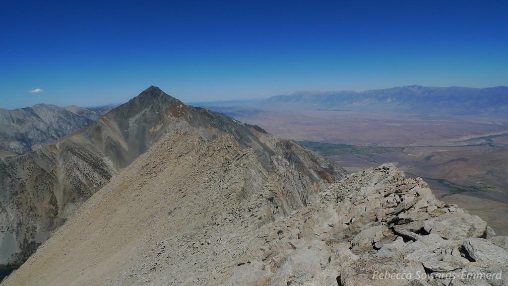 Mt Tom and the north ridge of Basin