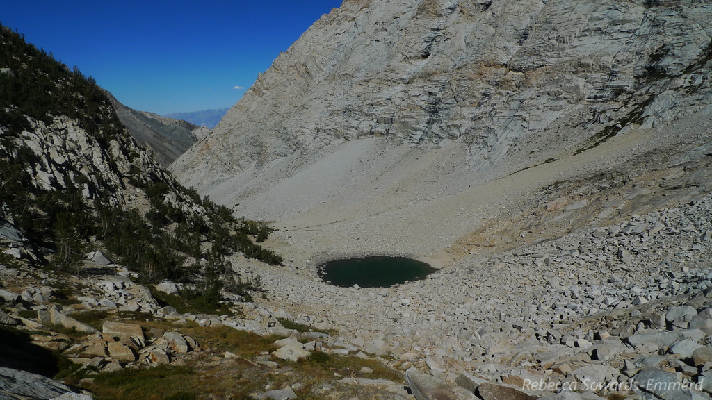 The lower lake.