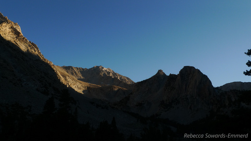 Sunset towards Basin