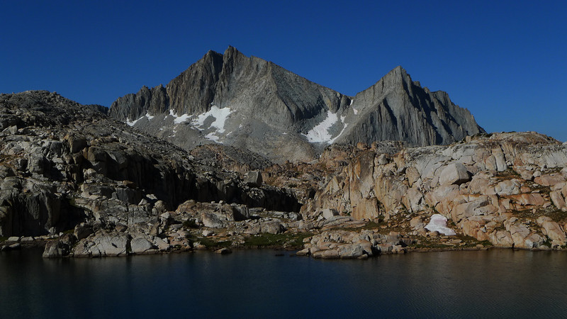 A couple of final shots from our campsite. Hard to beat these kind of views. That chute doesn't look so bad anymore.