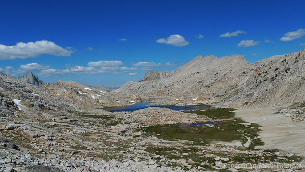 Looking back on Bear Paw.