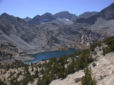 Views from the Mono Pass Trail