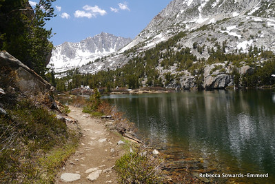 Trail along Long Lake