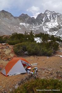 Home sweet home! Love my new UL1 Copper Spur tent from Big Agnes.