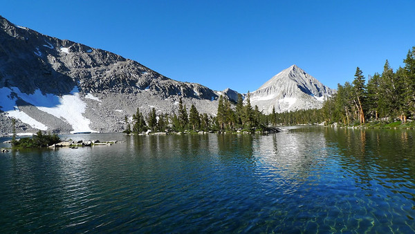 Arrow Peak and Bench Lake. Beautiful Place! I'm glad I finally got here.
