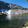 Bench Lake in the morning