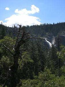 View back at Chilnualna falls