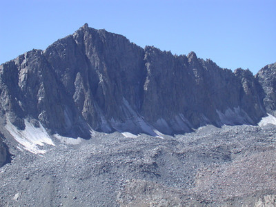 Mt Goode and its glaciers