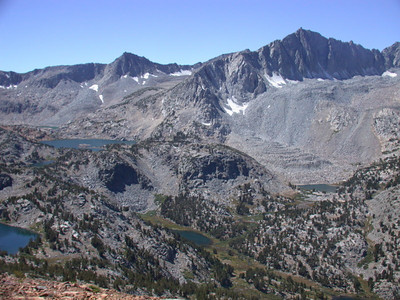Saddlerock Lake and Mt. Goode