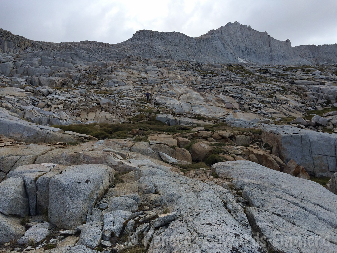 Looking back at Mt Brewer - I'll be back, it was a great route!