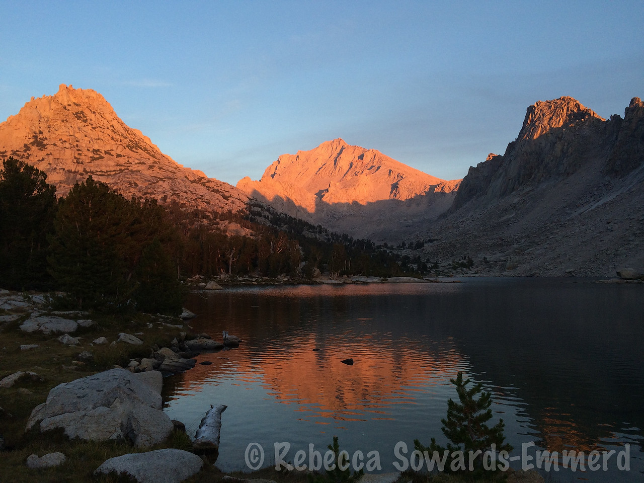 Kearsarge Lakes Sunset