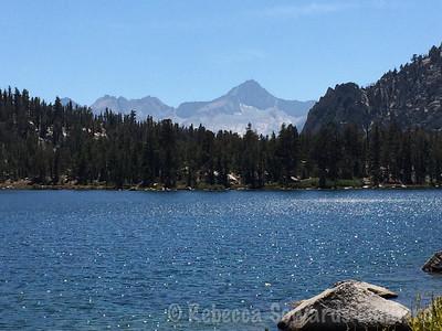 Bullfrog Lake and Mt Brewer