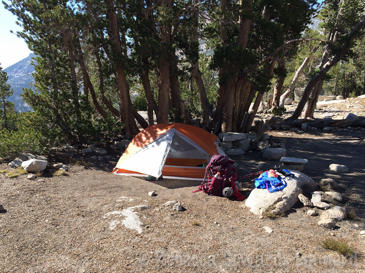 Same campsite!