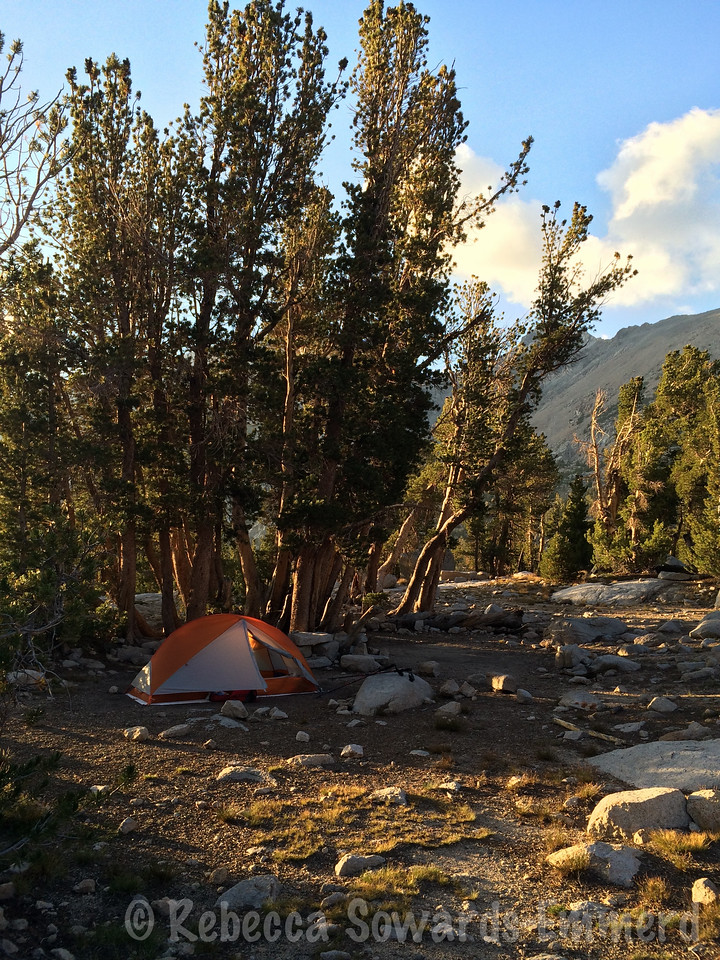 My palace, the Big Agnes Copper Spur 1