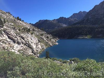 Looking back on Lake Reflection