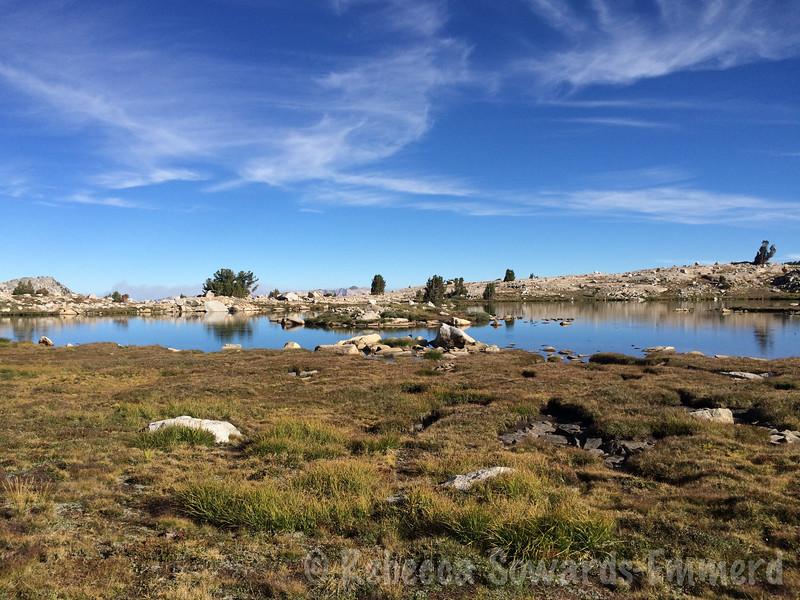 At the lake with the island (Lake 11010)