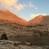 Sphinx Pass in sunset light