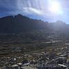 Mt Francis Farquhar in the morning sun