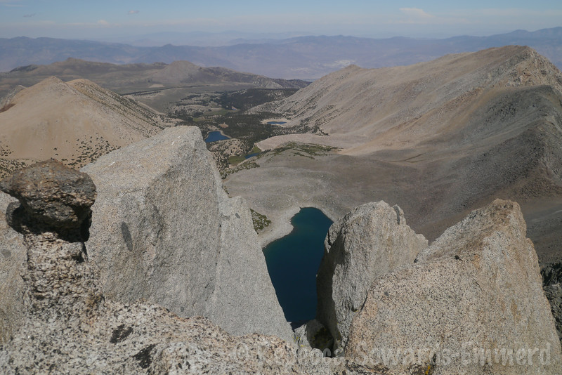 Baker Creek, Thunder & Lightning Lake, and Skyhaven from Vagabond summit.