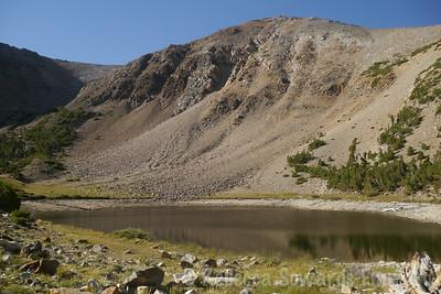 Brown Lake is...brown
