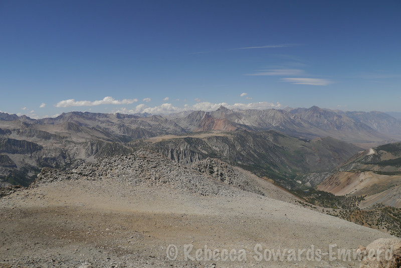 Mt Humphreys from Vagabond's slope.