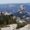 Half Dome. Didn't have a proper lens to zoom in on the cables but rest assured they were busy.