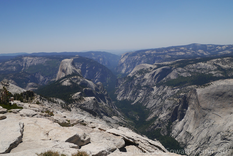 Half Dome and Yosemite Valley from Clouds Rest