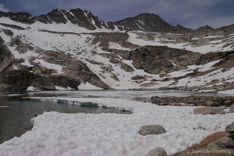 We just kicked back and enjoyed the spot, watching the other people go up/down North Peak. Guess we weren't summiting.