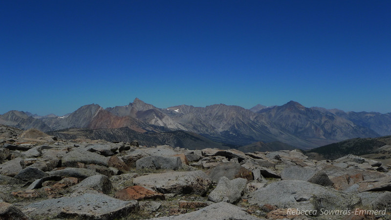 Mt Emerson, Mt Humphreys, Basin, and Mt tom.