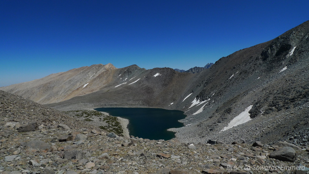 Thunder and Lightning Lake, and Sky Haven (peak)