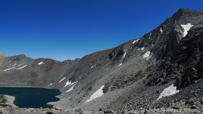 Thunder and Lightning Lake, Vagabond Peak.