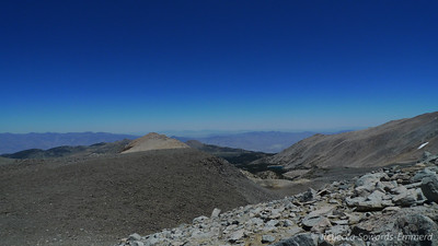 The Baker Creek drainage - Hidden Lake is the only one visible from here.