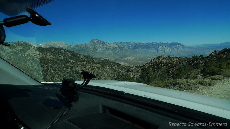 Mt Tom view as we head out of Coyote Flats.