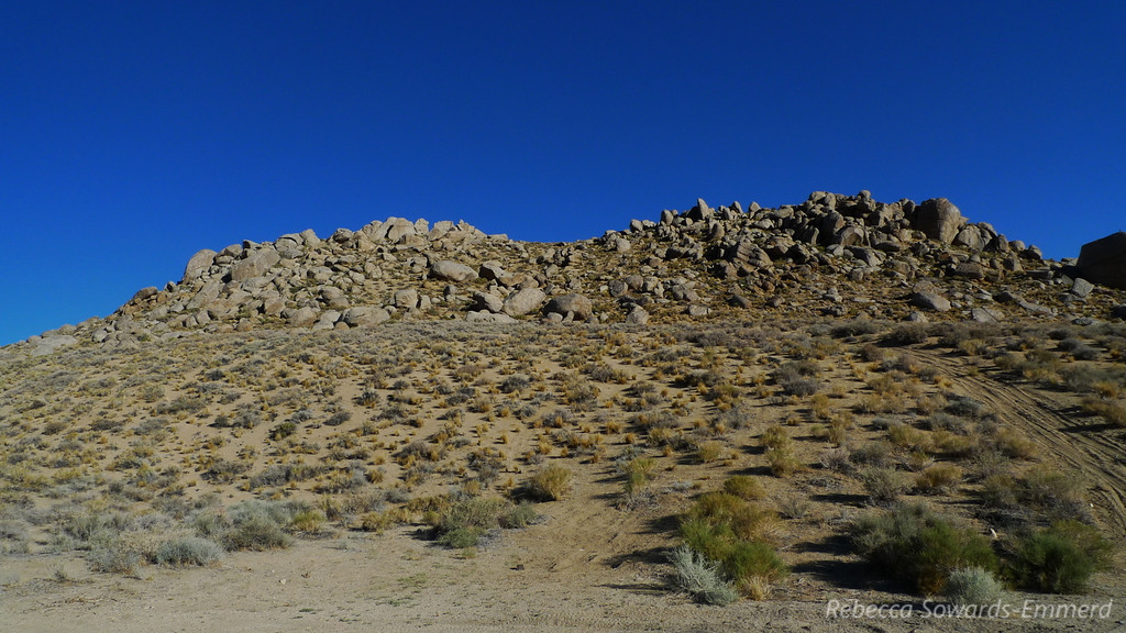 Cool terrain back in here, close to and similar to the Buttermilks.
