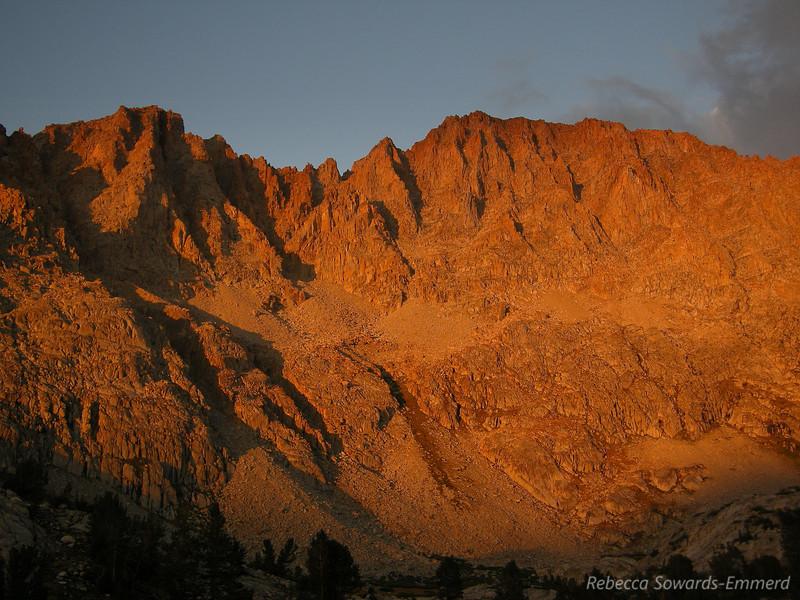 Mt Mendel and Darwin
