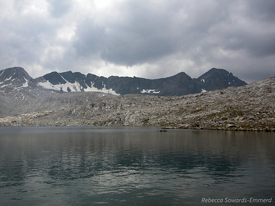 Goddard Divide and Wanda Lake (named after one of John Muir's daughters)