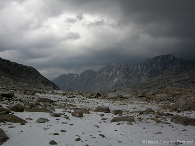 Storm over Evolution Basin